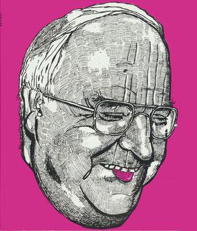 Helmut. Zeichnung 1995