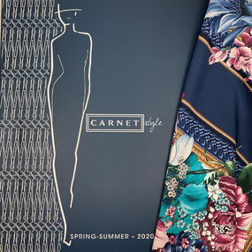 Carnet Style Kollektionsbuch Spring-Summer 2019 · le coupon