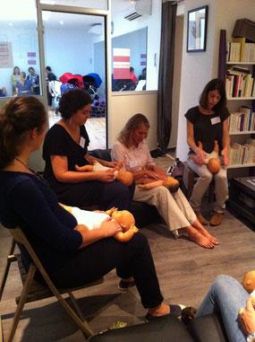 mum to be party bordeaux paris france femme enceinte grossesse atelier blog professionnel massage bébé naissance