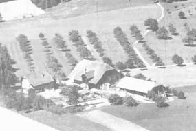 Aufnahme vom Hof Ebnet in 1940