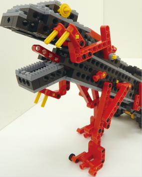 作成するロボットのロボザウルス