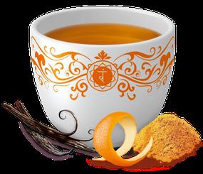 Yogi Tee Kurkuma Orange Ayurvedische Teemischung, Biotee, lecker  Quelle: www.yogitea.com