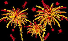 Feuerwerk / Illu