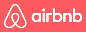 Logo di Airbnb come collegamento alla pagina dell' Hotel B&B A'Loro di Terranuova Bracciolini