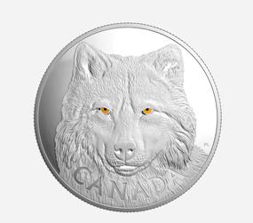 Numismatische Münzen Kanada Silber