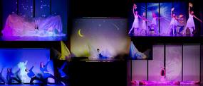 Lichtshow Balettaufführung