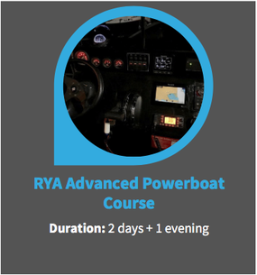 rya advanced powerboat course superyacht crew training