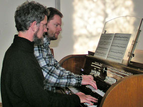 Jürgen Kuns und Ludger Morck
