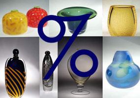 Geschenke, Schnäppchen, Angebote, Studioglaskunst, Kunsthandwerk