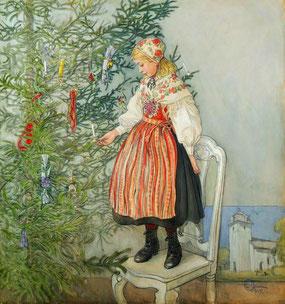 ©Christmas tree confetti, Carl Larsson 1917
