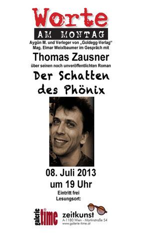 Galerie Time Worte - Thomas Zausner Aygün M.