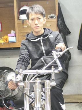 闘志あふれる走りで活躍が期待される石本圭耶