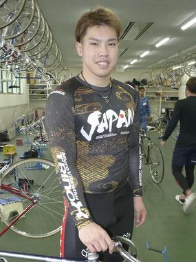 大村のフレッシュルーキーに選ばれた吉田翔悟