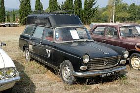 Peugeot 404 Leichenwagen