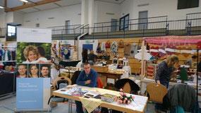 Hobby- und Künstlermarkt, Bärenhalle Bindlach, DMSG Informationsstand