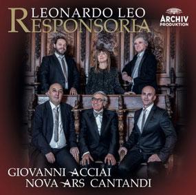 L'ultimo CD di Giovanni Acciai per Deutsch Grammophon/Archiv in uscita nel mese di Ottobre 2018.