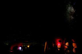西表石垣国立公園が星空保護区に認定された(資料写真)