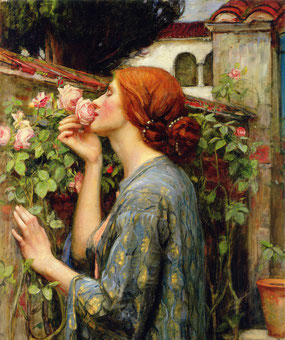 J. W. Waterhouse - The Soul of the Rose