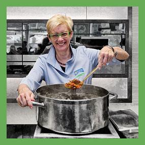Zugorama V-Zug: Jeannette kocht für Kunden