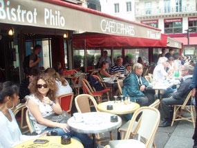 毎週日曜朝に哲学カフェが開催されるバスチーユのカフェ・デ・ファール