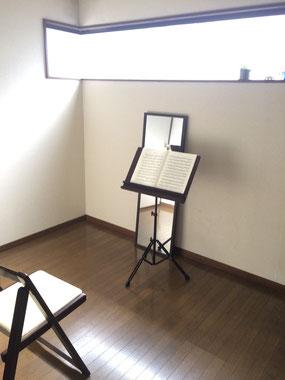 レッスン室 写真