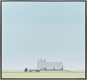 """Origins,"" 2021, acrylic on canvas, 36 x 40"" - SOLD"