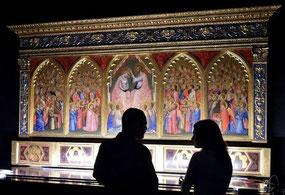 """OmoGirando la mostra """"Giotto, l'Italia"""""""