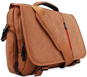 """17 Zoll Laptoptasche aus Leder der hochwertigen Marke """"Snugg"""""""