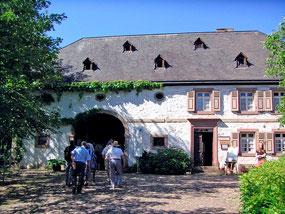 Blick auf das Eingangsgebäude Haus Wolfersweiler