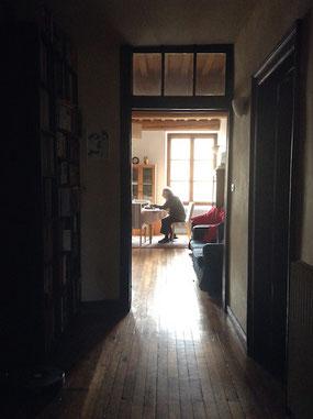 Carlos numerando sus archivos, Octubre 2015 asfotosdocarlos.com