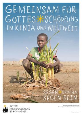 Plakat zur Aktion Dreikönigssingen 2017