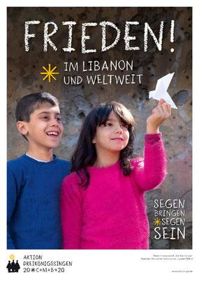 Plakat zur Aktion Dreikönigssingen 2020
