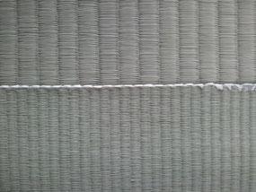 下が縁無し畳用のい草目積織表(目積表)