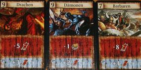 Angreifer-Karten