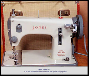 Jones CS ............. NeedleBar ................... D 59
