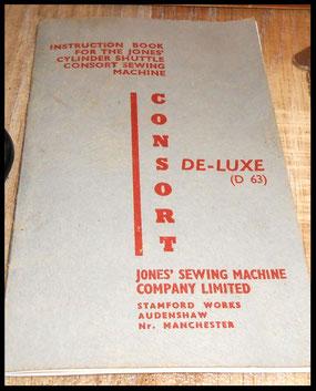 JONES ....... CONSORT ...... DE- LUXE ....... (D63)