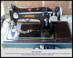 Jones CS ......... NeedleBar ..... D 53 Type 1 var. 1