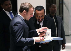 Editions Bernard Dumerchez Arthur Rimbaud Joël Leick Emmanuel Macron Ethiopie
