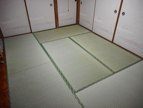 日野市S様畳と襖施工例