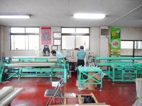 日野市 まちゼミ 畳屋さんの工場見学