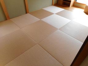 府中市 和紙畳 縁無し 琉球畳