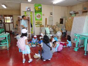 地域の小学生 畳店