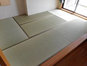 多摩市I様 新畳熊本県産の「上」の畳おもて