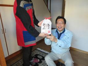 熊本県産の畳替えしてお米をゲット