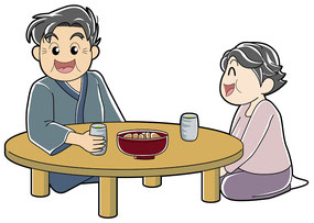 おじいちゃん おばあちゃん 和室