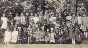 Mädchenschule 1920er