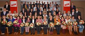 In feierlichem Ambiente ehrte DEHN 70 Jubilarinnen und Jubilare Foto: neumarkt4you/Peter Wernig