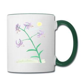 Tasse Lilie aus dem Kaffeetassen-Online-Shop von Syelle Beutnagel