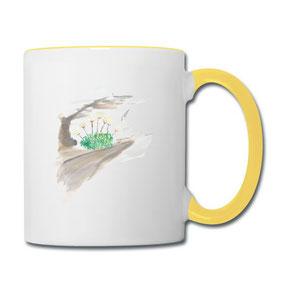 Tasse Steinbrech aus der Kaffeetassen-Online-Shop von Syelle Beutnagel