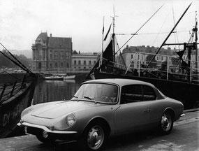 GT4 sur le port de Dieppe